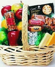Fresh Fruit & Gourmet Basket for a Birthday!